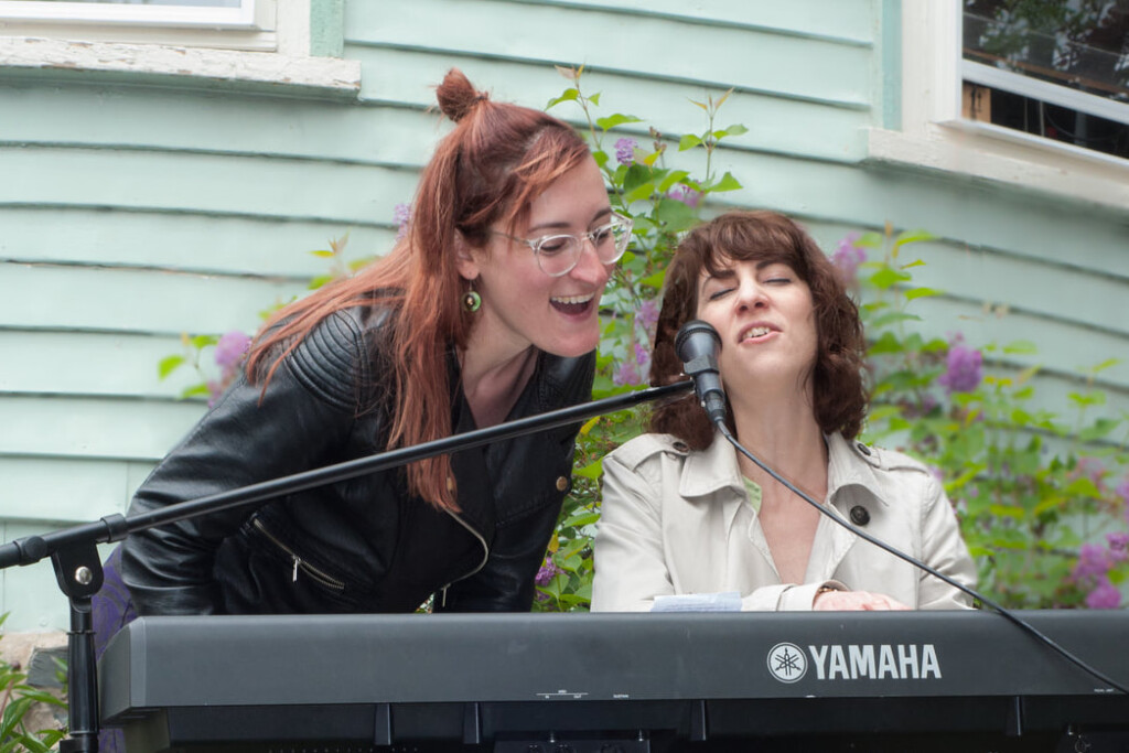 singing with joanna porchfest
